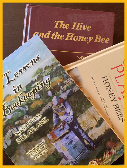 Beekeeping books and publications