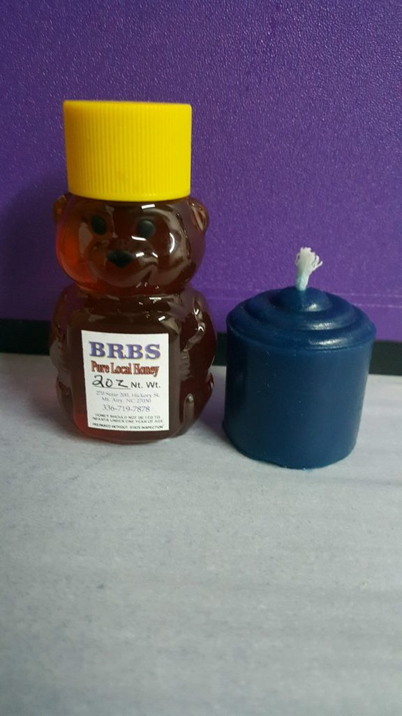 BRBS Honey and candle